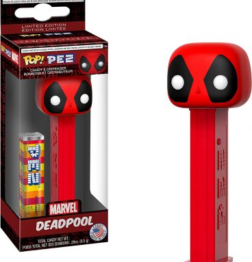 1up accesorios pez marvel deadpool