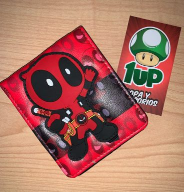 billetera deadpool toy 1up ropa y accesorios