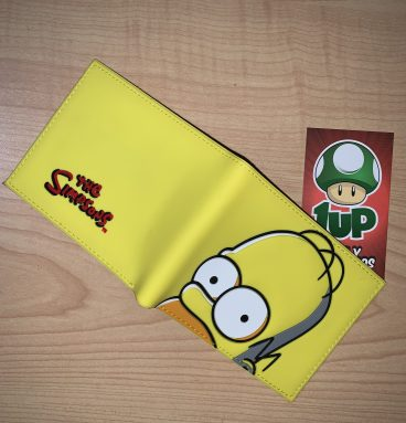 billetera the simpsons 1up ropa y accesorios